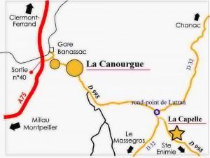 Entre la Canourgue et Sainte-Enimie
