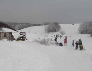 Neige à Bonnecombe
