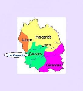 Causses et gorges, Aubrac, Margeride, Cévennes