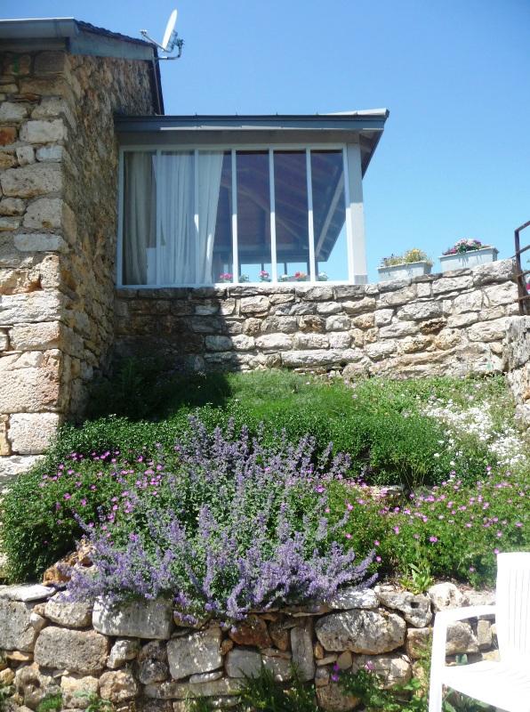 terrasse gite chapelle